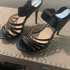 Michael Kors steeply heel sandals size 10
